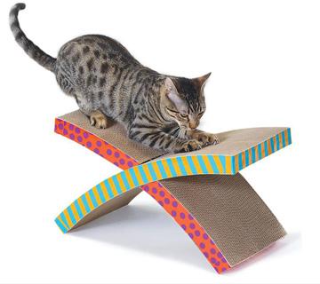 ペットのおもちゃ ダッドウェイ ペットステージ ハンモック スクラッチャー
