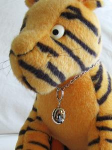 ティガーと猫用チョーカー
